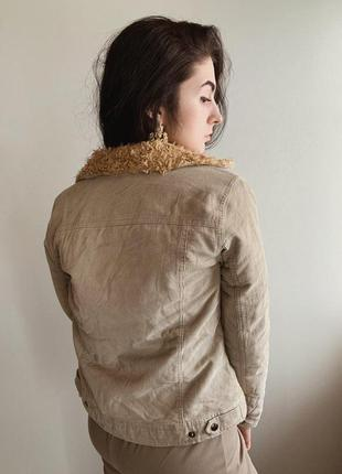 Вельветовая куртка2