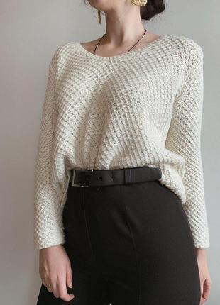 Фактурный свитер от zara