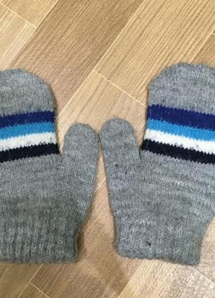 Рукавицы, рукавички на 2-4 года
