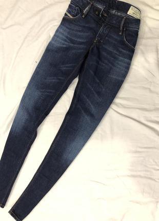 Крутые новые джинсы бренда diesel, р. 27