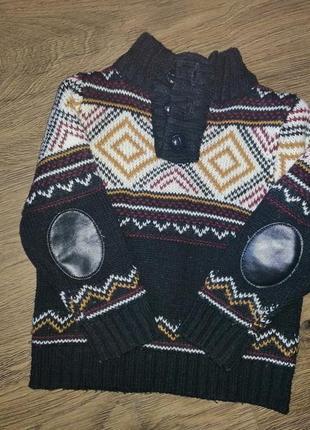 Вязанный свитер (кофта) littlerebel рр12-18мес(86см)