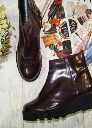 Eden. кожа. крутые ботинки на платформе