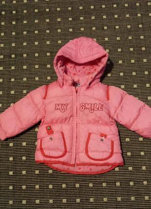 Курточка chicco 12міс.74см.
