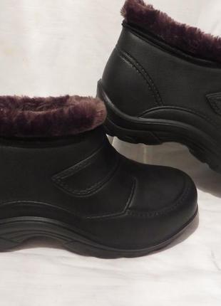Ботинки галоши мех размеры 41,42,43,44,45