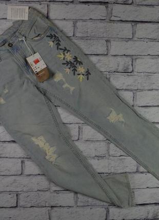 Шикарные джинсы бойфренды для девочки от page young, германия, на рост 158 (12-13 лет)