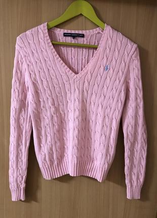 Коттоновый свитерок polo ralph lauren