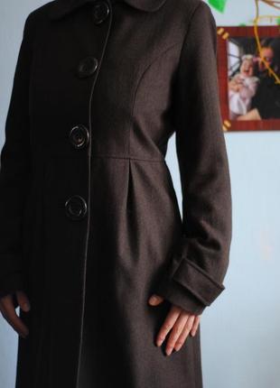 Демисезонное классическое элегантное пальто
