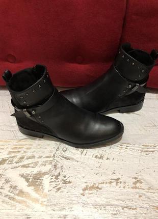 Фирменные ботинки s.oliver 41р./26,5 см