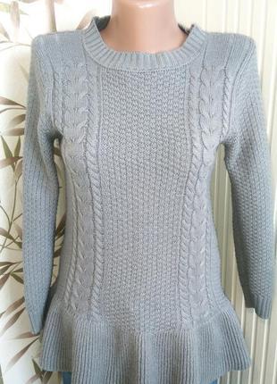 Милый свитер/кофта/джемпер с баской
