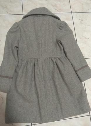 Пальто для девочки 5-6лет3