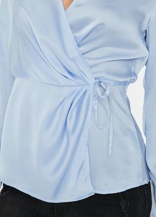 Невероятно красивая сатиновая блуза от missguided2 фото
