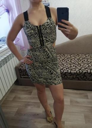 Платье мини летнее