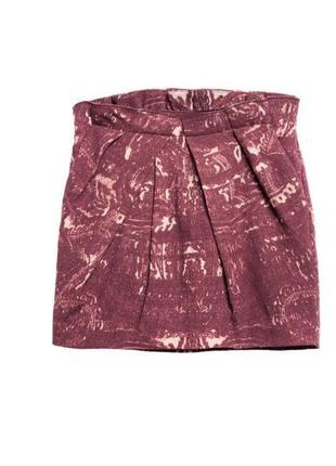 Шерстяная юбка h&m studio размер y3-4; 4-5; 6-7