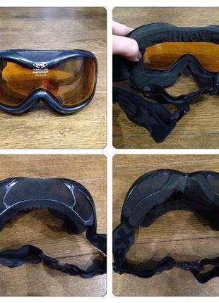 Лыжная маска очки uvex взрослая