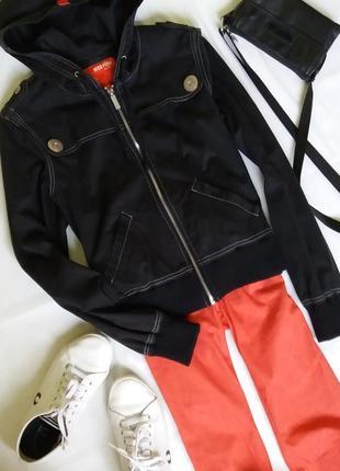 Укороченная куртка/ветровка с капюшоном miss posh