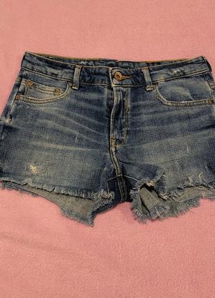 Новые короткие шорты zara размер s