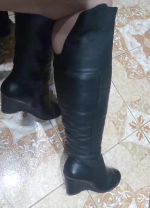 Зимние сапоги ботфорты женские 2019 - купить недорого вещи в ... f6d3b705fd905