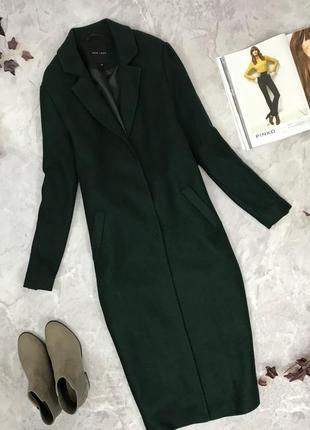 Удлиненное пальто на кнопках  ov 1903037 new look