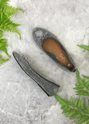 Текстильные балетки с люрексом  sh1903061 shoe collection