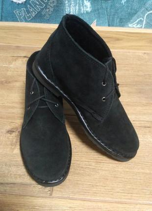 Комфортные замшевые ботинки инблу inblu р. 37- 41