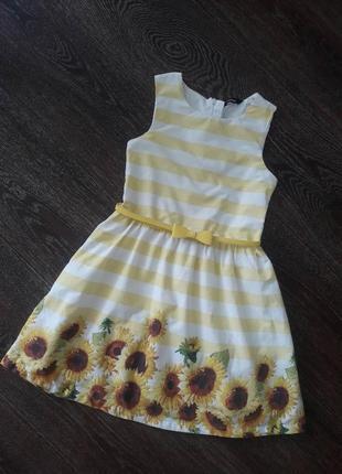 Нарядное платье р.122-128 см