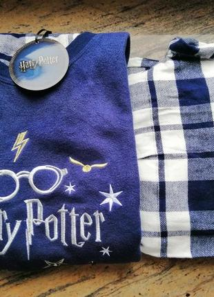 Флисовая пижама гарри поттер р. xs primark