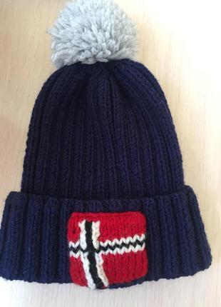 Крутая шапка в новом состоянии
