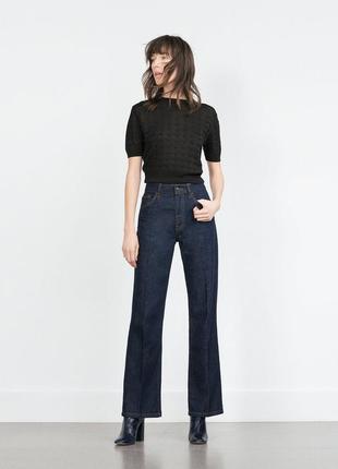 Стильные джинсы zara p.xxs-xs