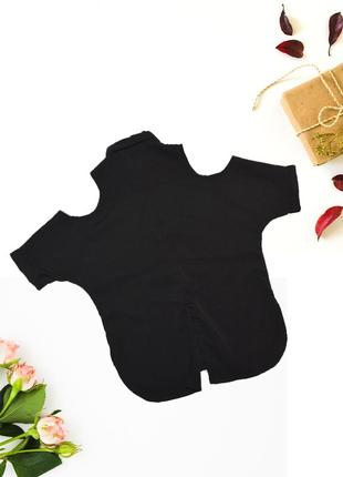 Блуза с голыми плечами и разрезом на спине e-vie by peacocks4