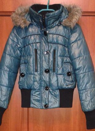 Куртка женская зимняя короткая only