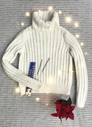Свитер укороченный кроп под горло пуловер водолазка вязаный купить цена