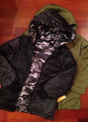 Курточка для мальчиков 2 в1 рост 128