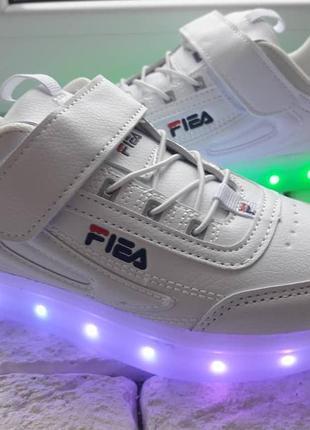 Led -кроссовки с подзарядкой usb