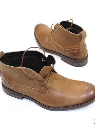 Rockport кожа ботинки 43 р оригинал