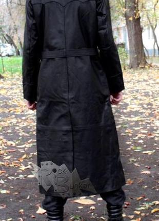 Винтаж: плащ кожаный мужской из ссср. винтаж 90 -х годов