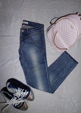 Gaudi джинсы скинни fit на худенькую девушку, р.26, наш 40-42, xs-s