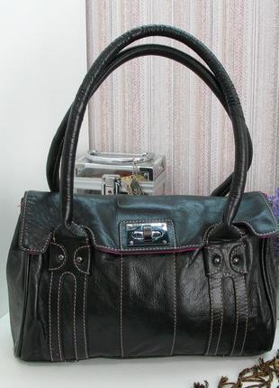 Стильная сумка clarks, натуральная кожа