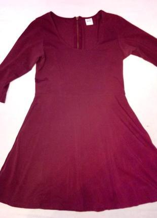 Стильна сукня насиченого кольору