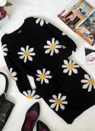 Очаровательный тёплый свитер-туника от george.