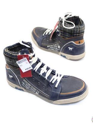 Ботинки 44 р mustang jeans германия демисезон оригинал