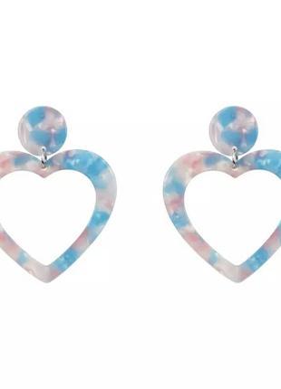 Акриловые сердечки