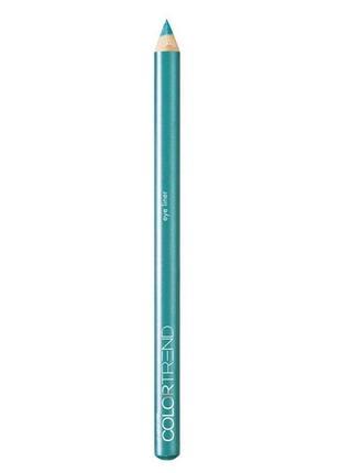 Бирюзовый карандаш для глаз color trend в подарок к любой покупке!