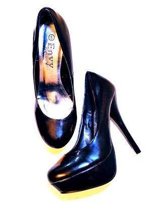 Мега шикарные туфли на высоком каблуке/шпильке envey by cherag2
