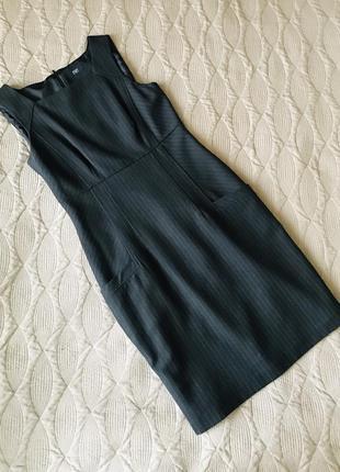 Сарафан плаття сарафан платье футляр карандаш в полоску