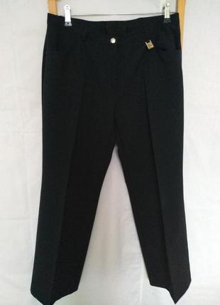 Классные черные брюки штаны германия
