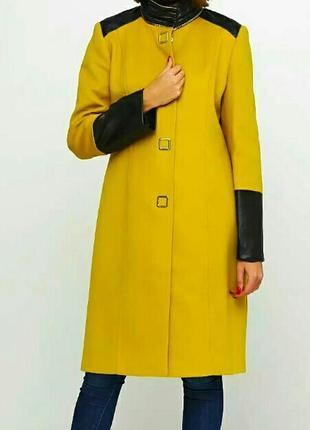 Новое брендовое пальто sassofono р. 42 наш 46-48 сассофоно