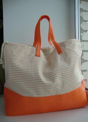 Нова велика,стильна пляжна сумка від avene.оригінал!!!