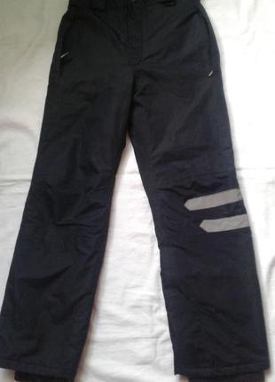Лыжные термо штаны для мальчика  рост  146  - 152 см