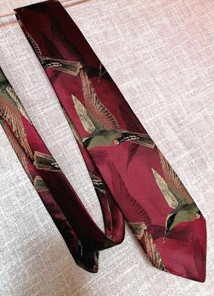 Шикарный мужской галстук 100%шелк италия
