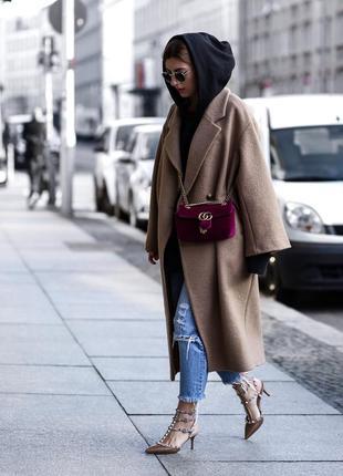 Скидка! 🔥редкое премиальное 100% шерсть oversize пальто от h&m premium